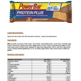 PowerBar ProteinPlus 33% Bar Sacoche 10x90g, Chocolate-Peanut